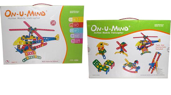 Juego didactico GOLDEN TOYS GT-2288 para niños de 3 años a + 168 piezas para armar tamaño de la caja: 40 X 29 X 5 cms