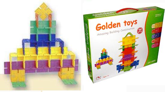 Juego didactico ON-U-MIND  GT-2323 para niños de 3 años a + 96 piezas tipo