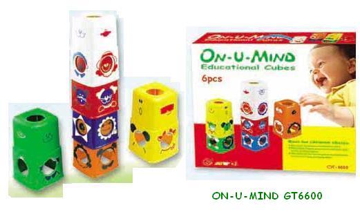 Juego didactico ON-U-MIND GT-6600 - para niños de 1 año a +