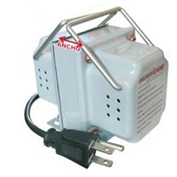 Transformadores 220V/110V marca HURRICANE, de toda potencia: 100W, 150W, 500W, 1000W, 1500W...para alimentar a sus equipos importados que requieren 110 Voltios...